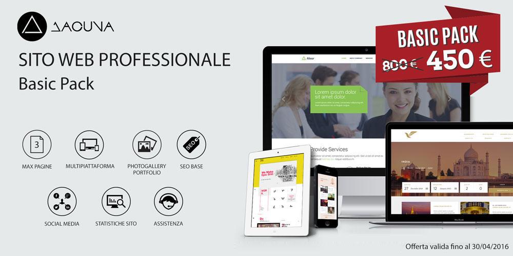 Dacuna Studio - Sito web Base